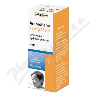 Ambrobene sir.100ml 15mg/5ml
