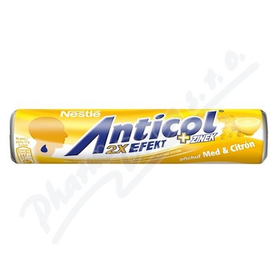 ANTICOL Med a citrón 50g