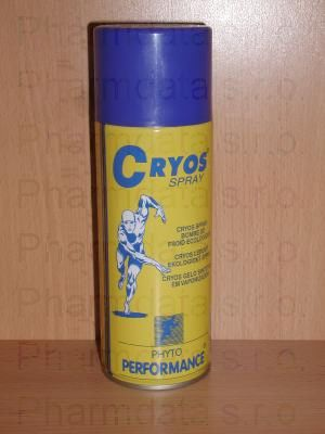 CRYOS SPRAY-synt. led ve spreji 400ml