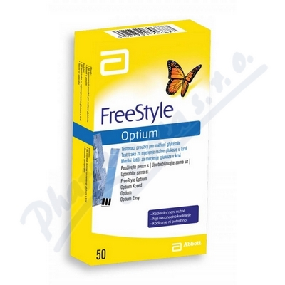 FreeStyle Optium diagnost.proužky 50ks