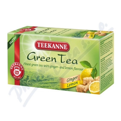 TEEKANNE Green Tea Ginger Lemon n.s.20x1.75g