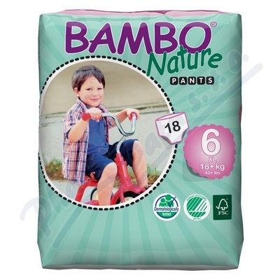BAMBO Nature Pants XL navl.plen.k.trenin