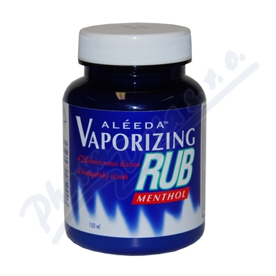 Vaporizing Rub Menthol Gel-prs.bal.150ml