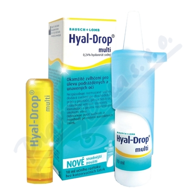Hyal Drop multi 10ml+balzám na rty