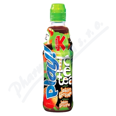 Kubík Play ice tea jablko-broskev 400ml