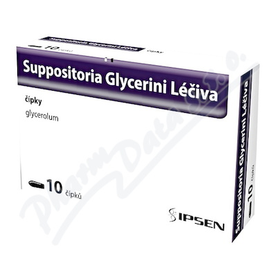 Suppositoria Glycerini Léčiva 1.81g sup.10