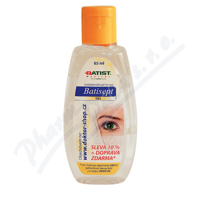 Batisept gel bezbarvý 85ml
