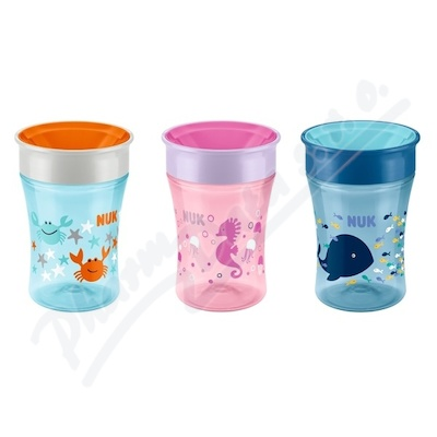 NUK hrnek Magic Cup 8+m 230ml 255248