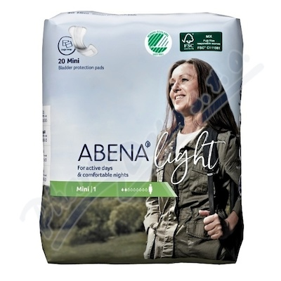 Abena ink.vložka light mini 1. 20ks