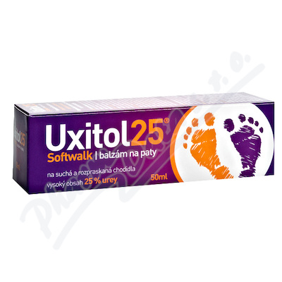Uxitol 25 Softwalk balzám na paty 50ml