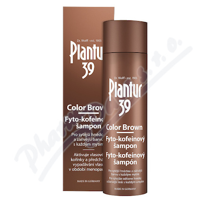 Plantur39 Col.Brown Fyto-kof.šampón250ml