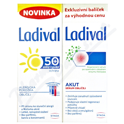 LADIVAL Obličej DUO Akut 50ml+Alerg OF50